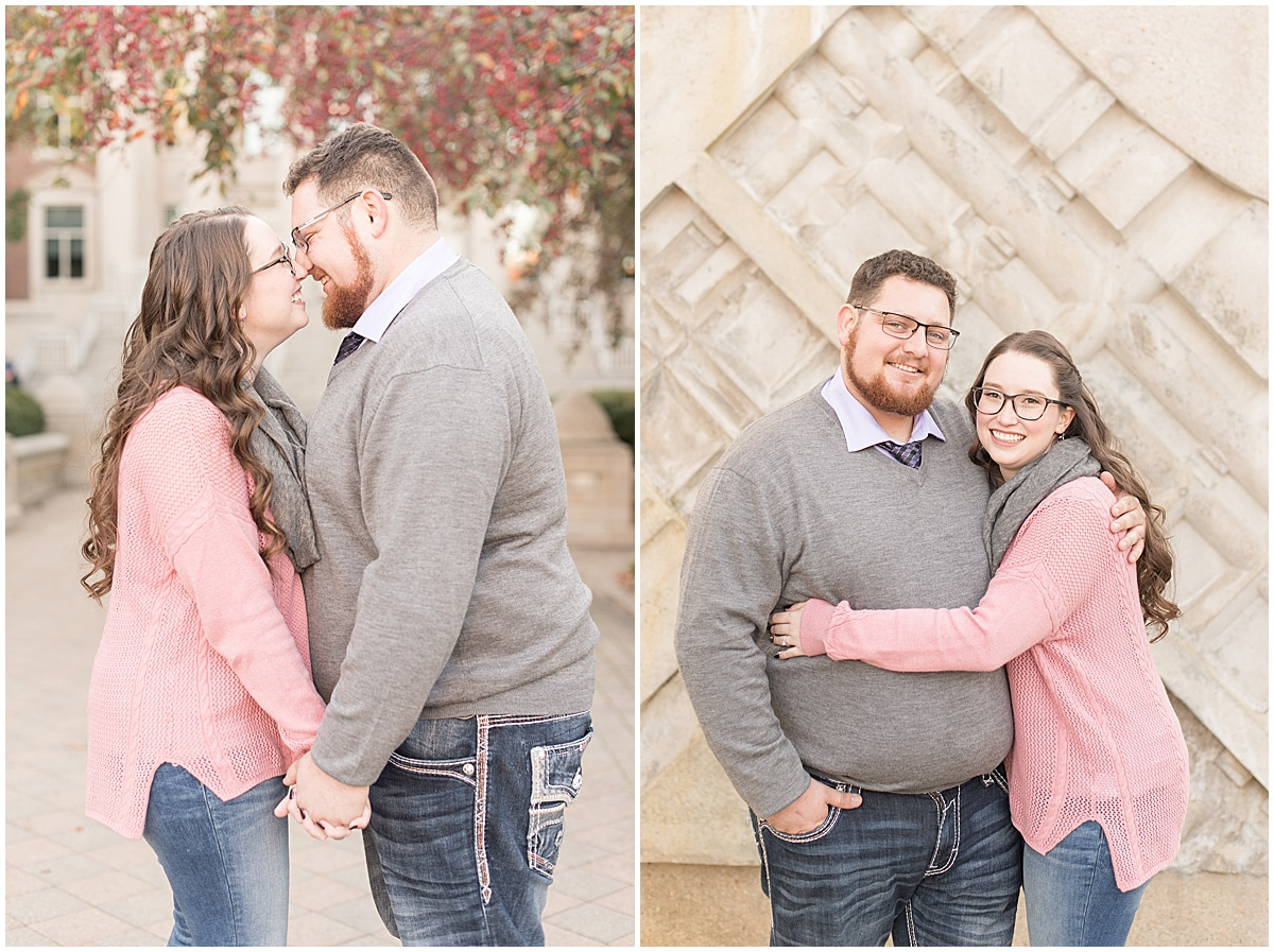 Andrew Rowe and Emily Britton fall engagement photos in West Lafayette Indiana 13.jpg