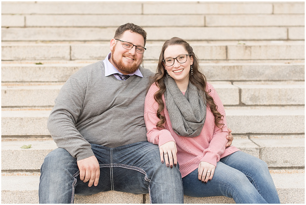 Andrew Rowe and Emily Britton fall engagement photos in West Lafayette Indiana 3.jpg