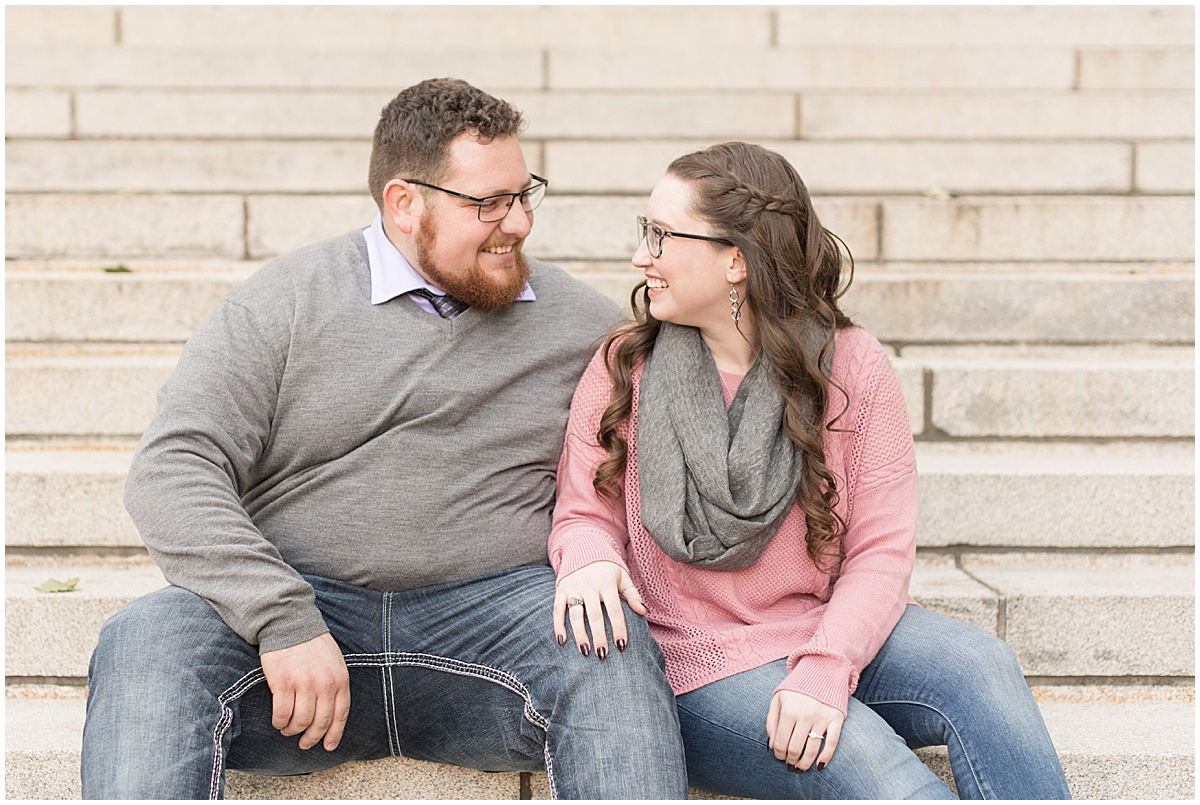Andrew Rowe and Emily Britton fall engagement photos in West Lafayette Indiana 4.jpg