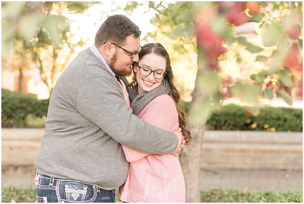 Andrew Rowe and Emily Britton fall engagement photos in West Lafayette Indiana 8.jpg