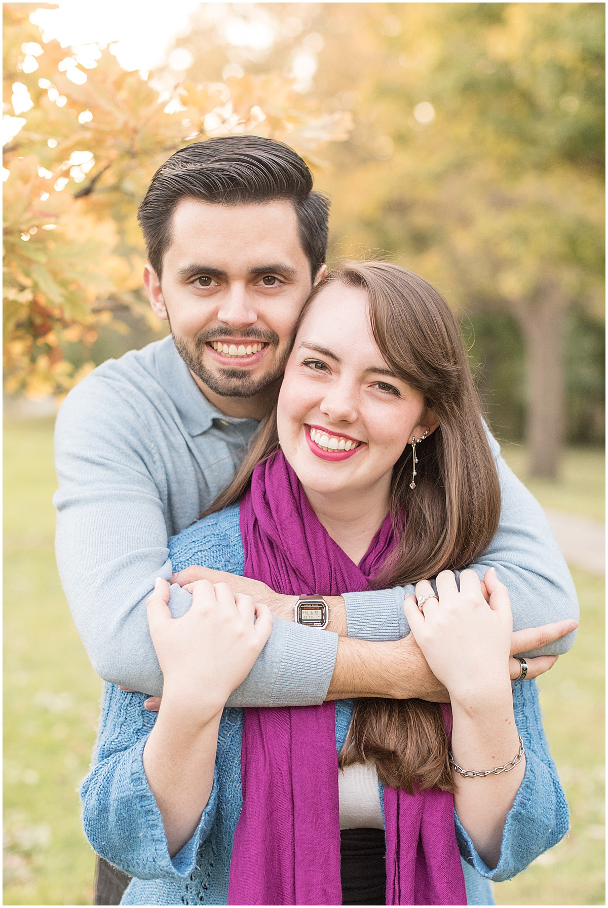 Nick Ballester and Madeline Pingel Engagement Session in Downtown Lafayette Indiana1.jpg