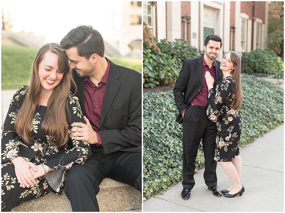 Nick Ballester and Madeline Pingel Engagement Session in Downtown Lafayette Indiana11.jpg