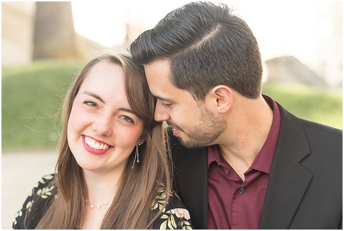 Nick Ballester and Madeline Pingel Engagement Session in Downtown Lafayette Indiana13.jpg