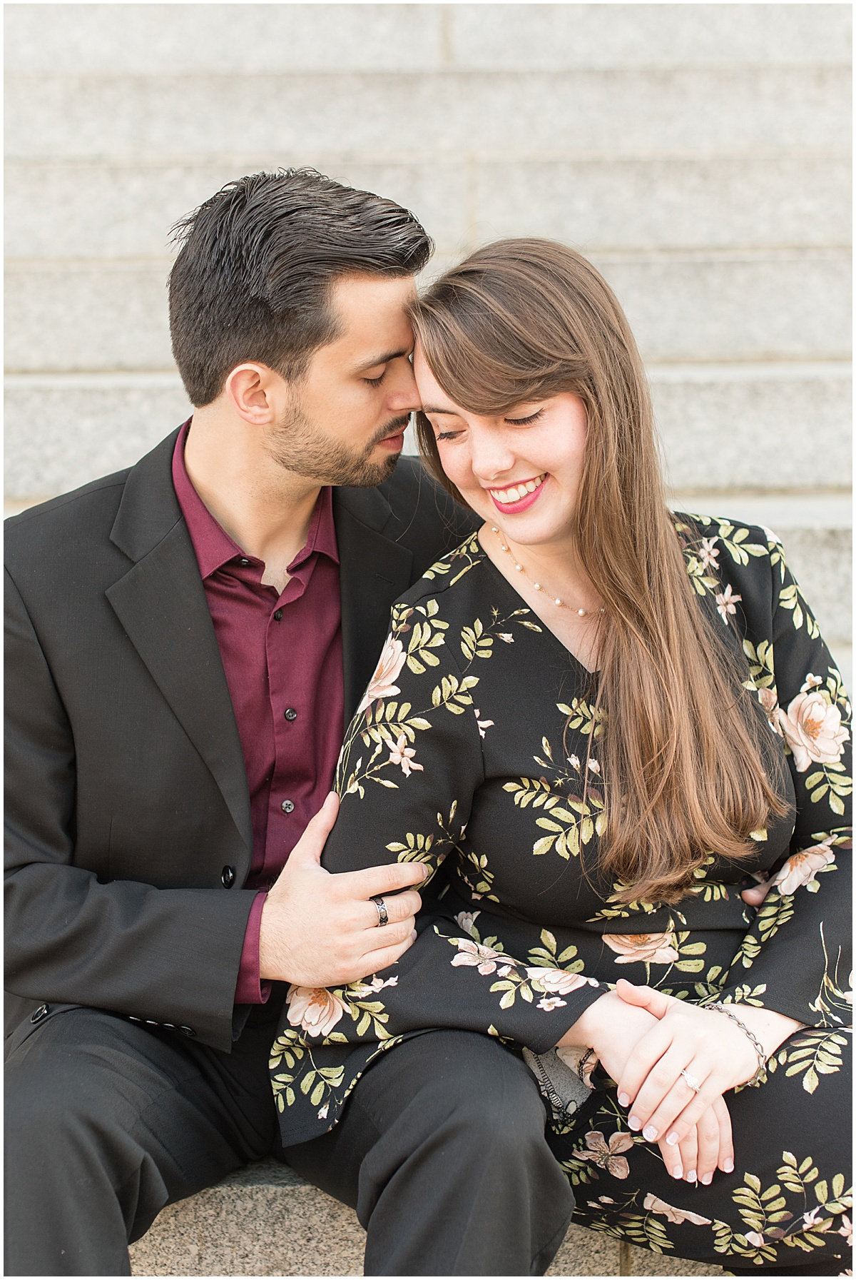 Nick Ballester and Madeline Pingel Engagement Session in Downtown Lafayette Indiana20.jpg