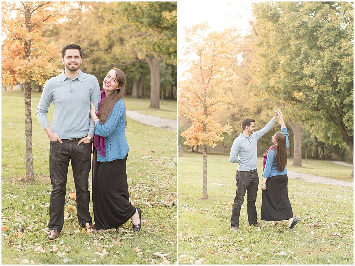 Nick Ballester and Madeline Pingel Engagement Session in Downtown Lafayette Indiana6.jpg