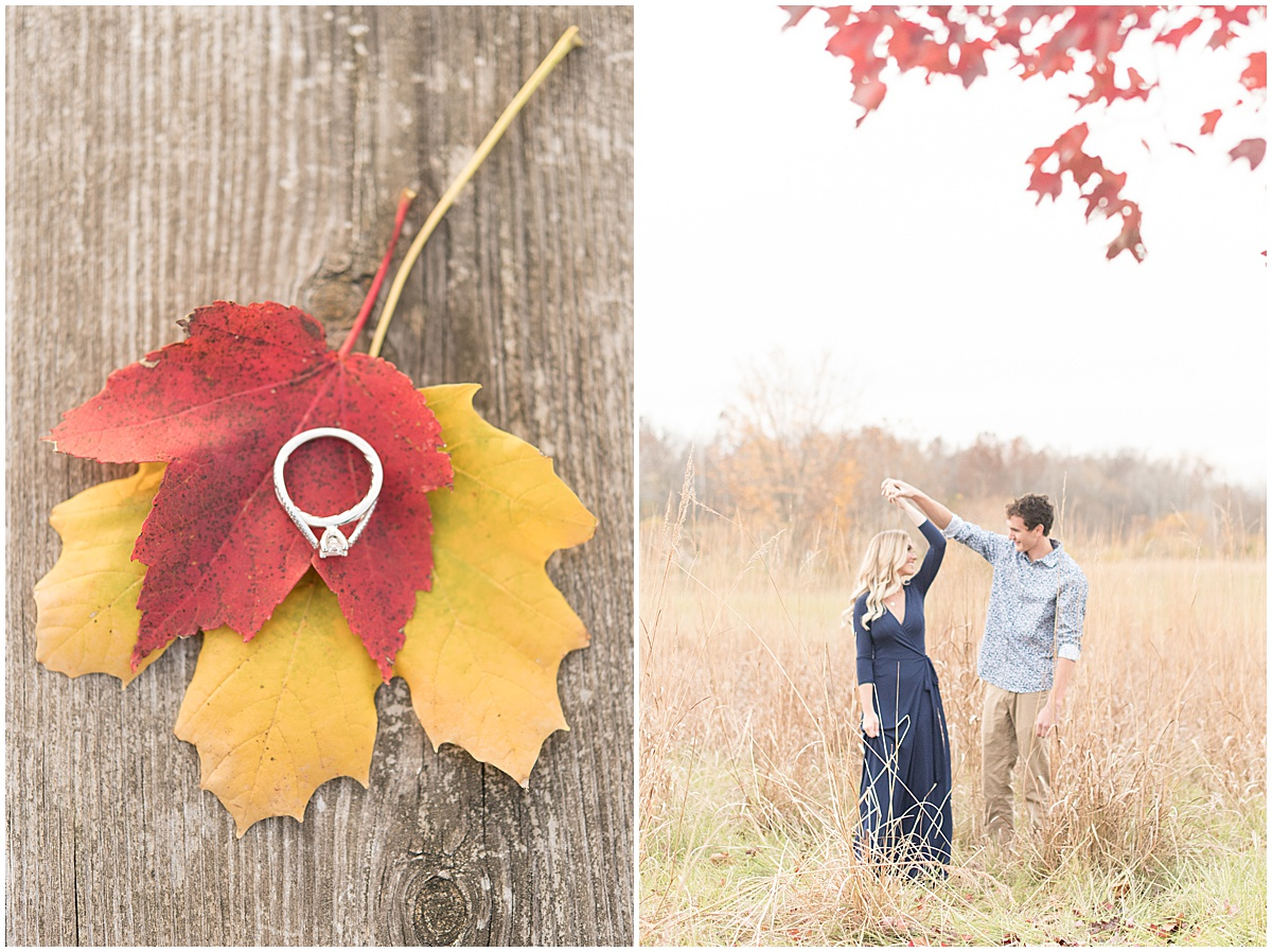 Wyatt Willson and Kaelyn Shircliff engagement session at Fairfield Lakes Park in Lafayette Indiana 32.jpg