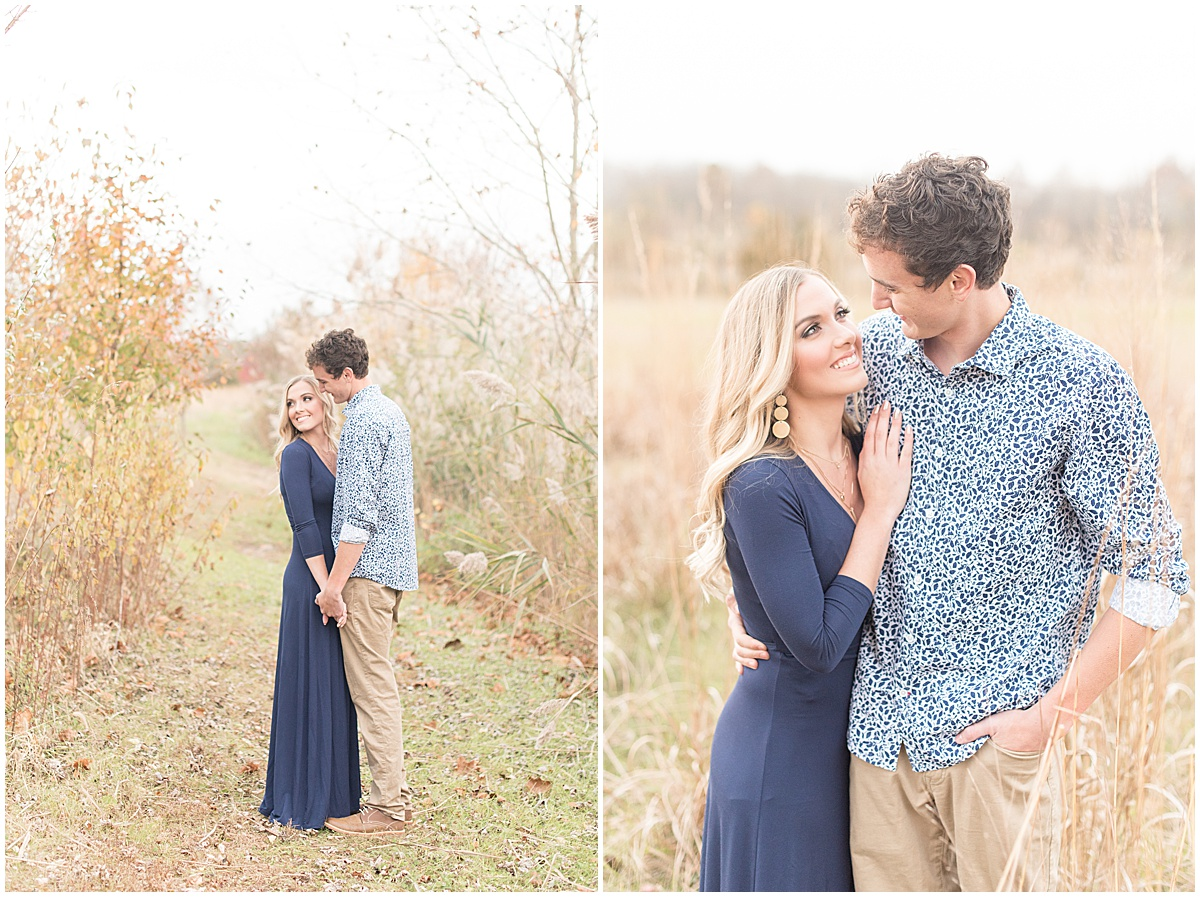 Wyatt Willson and Kaelyn Shircliff engagement session at Fairfield Lakes Park in Lafayette Indiana 39.jpg