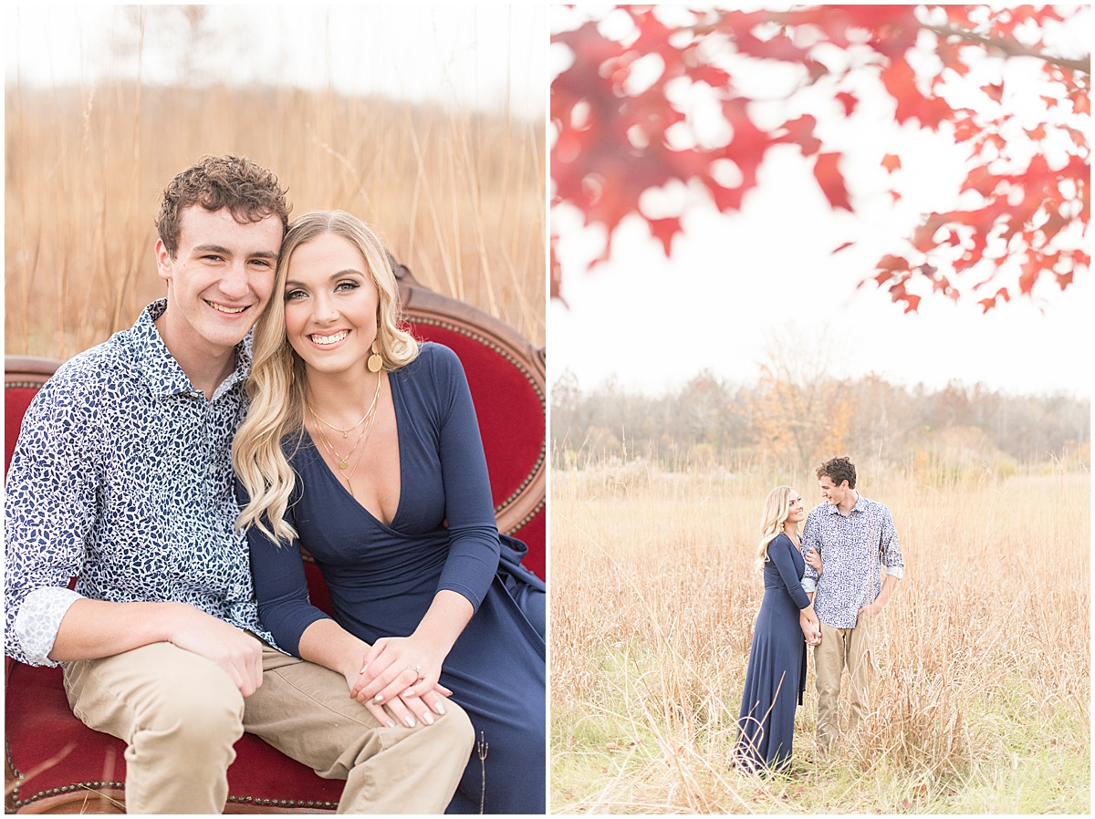 Wyatt Willson and Kaelyn Shircliff engagement session at Fairfield Lakes Park in Lafayette Indiana 41.jpg
