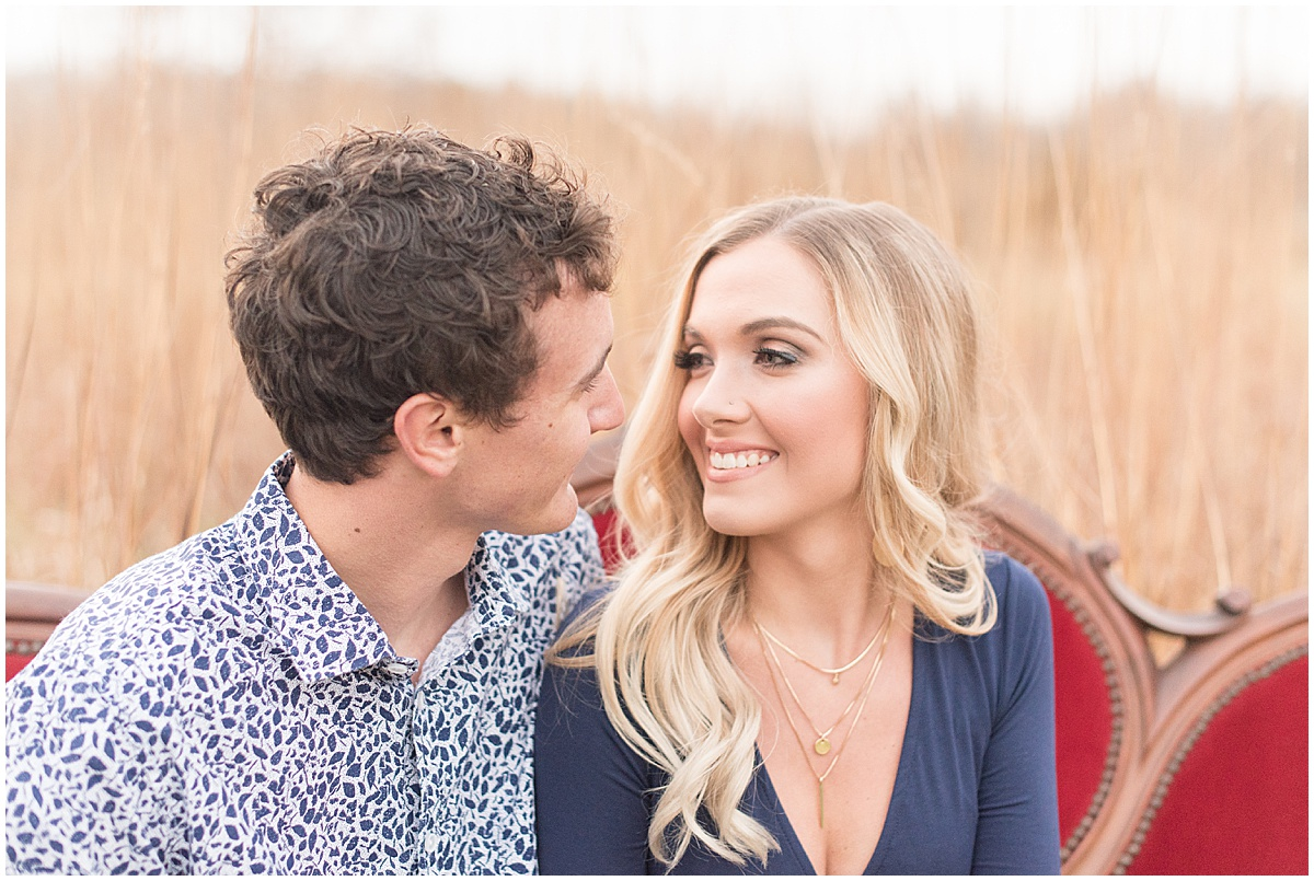 Wyatt Willson and Kaelyn Shircliff engagement session at Fairfield Lakes Park in Lafayette Indiana 43.jpg