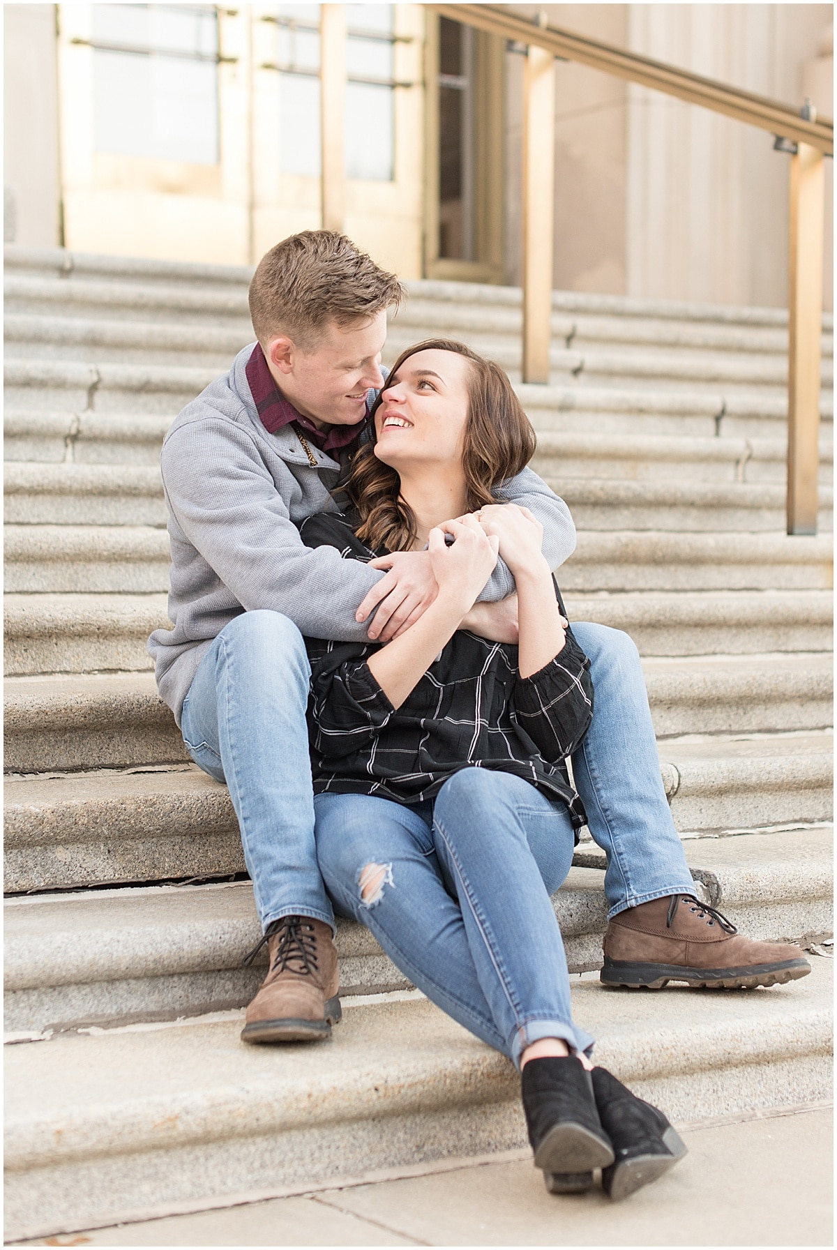 Winter Engagement Photos in Downtown Indianapolis 13.jpg