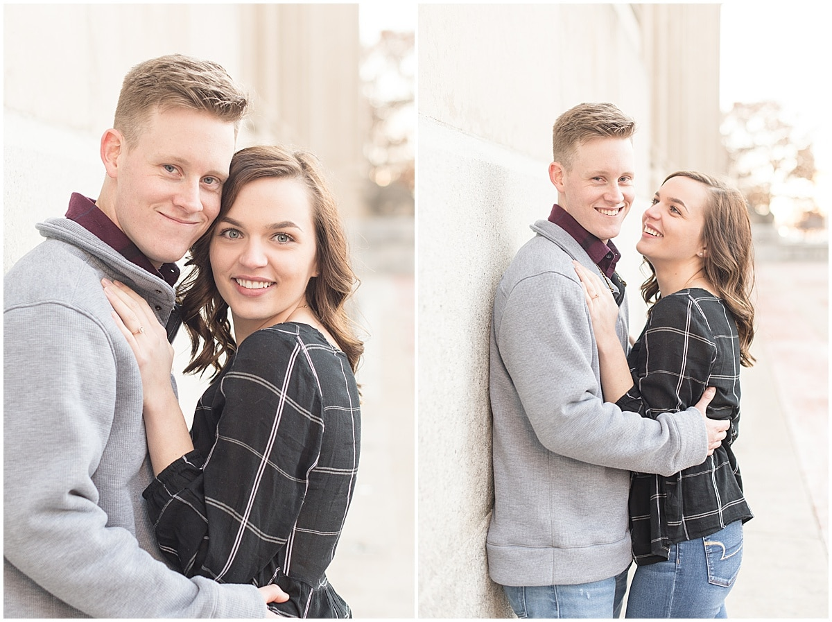 Winter Engagement Photos in Downtown Indianapolis 6.jpg