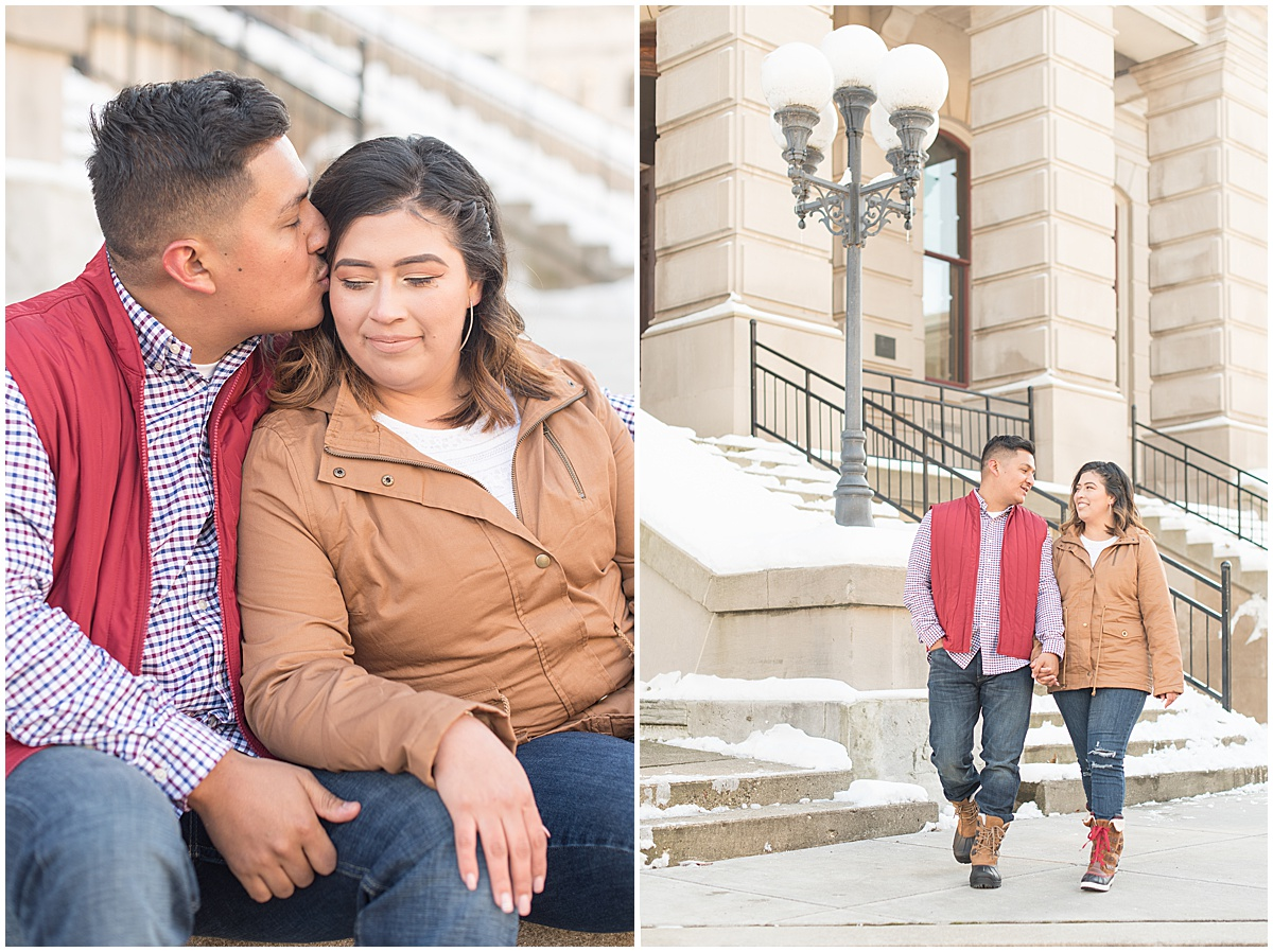 Jose & Carolina - Engagement Photos in Downtown Lafayette Indiana5.jpg