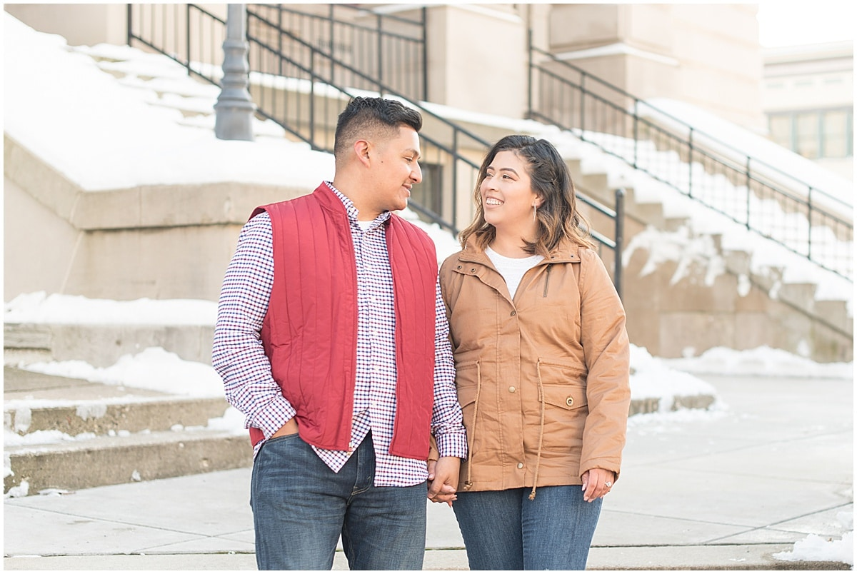 Jose & Carolina - Engagement Photos in Downtown Lafayette Indiana8.jpg