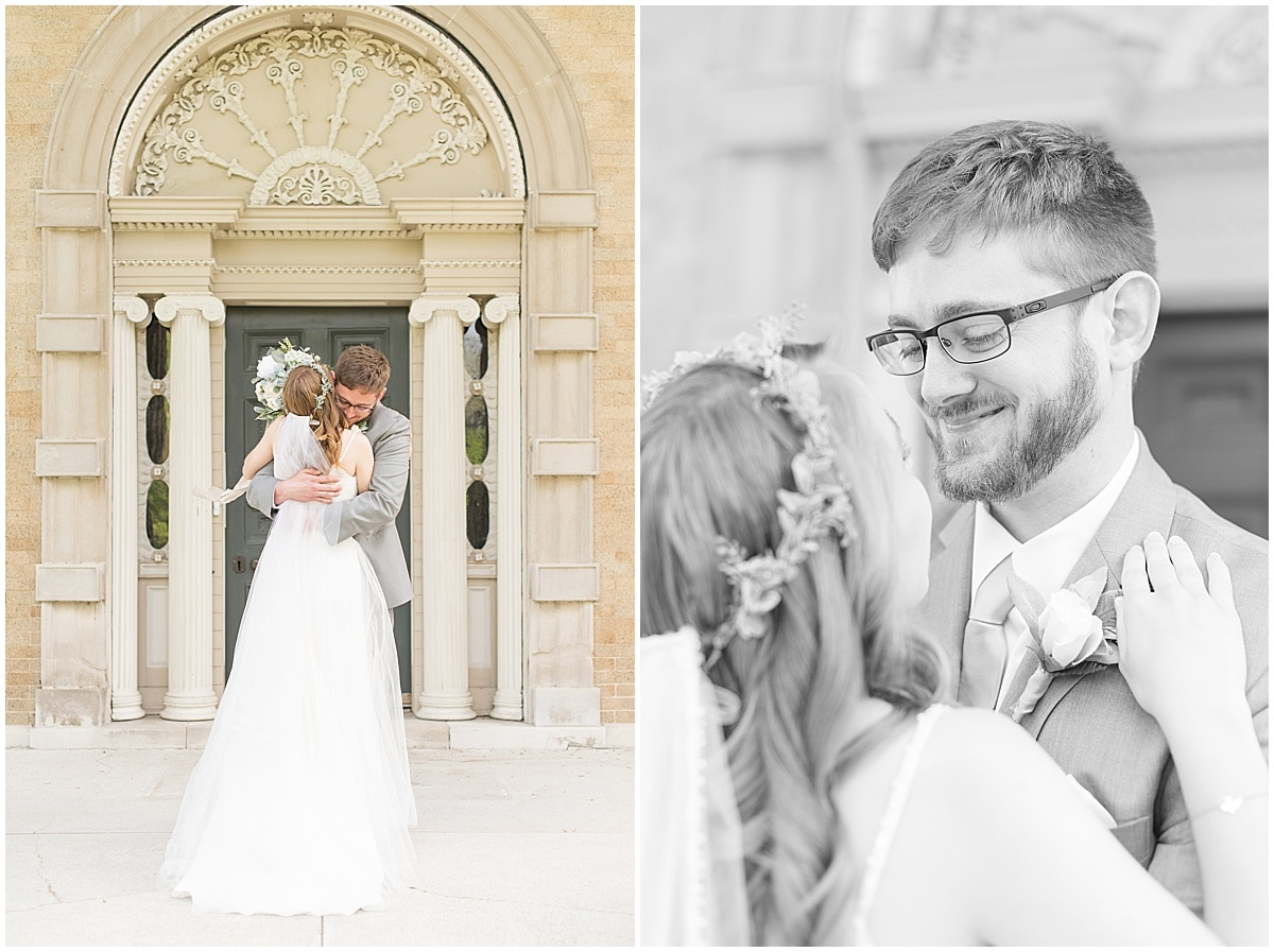 Reasons to Consider a First Look on Your Wedding Day: You can share an intimate moment with your fiancé.